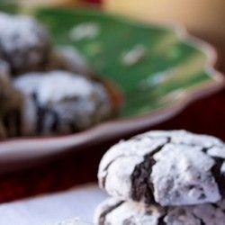 Mexican Mocha Crinkle Cookies   MEXICAN DISHES   Pinterest   Crinkle ...