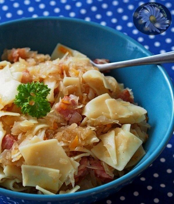 Kulinarne+Szaleństwa+Margarytki:+Łazanki+z+kapustą+kiszoną+i+kiełbasą