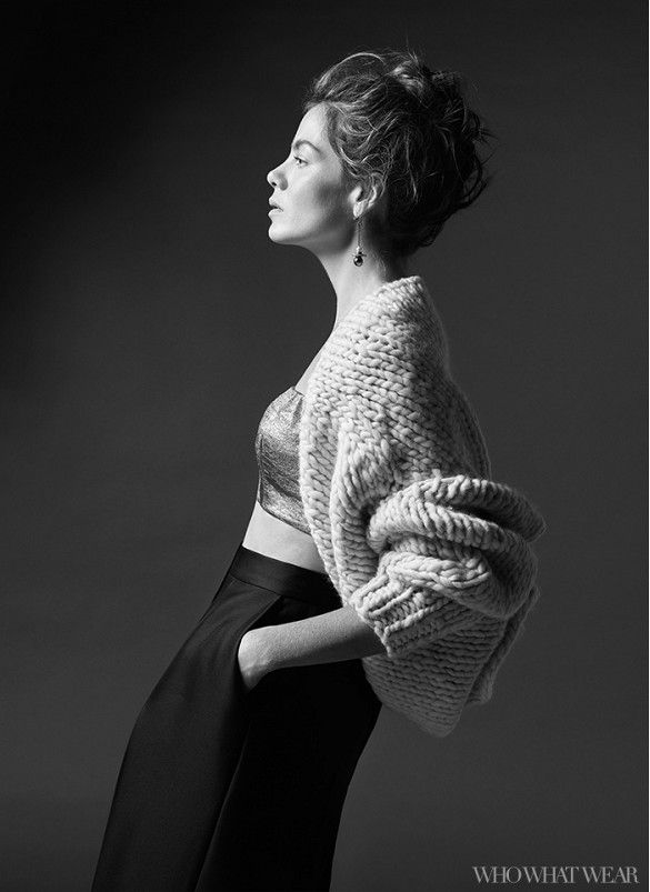 Exclusive: Michelle Monaghan Talks Fashion and the Secret to Having It All via @WhoWhatWear