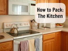 The kitchen is usually one of the last rooms you pack up before you move.  This is because moving in itself is expensive so eating out for the weeks before and during a move can be quite costly. So, how do you get your kitchen packed and cleaned before your move and still cook at the home? Keep the momentum rolling with these 5 simple steps on how to pack up your kitchen over two weeks! | Packing Tips
