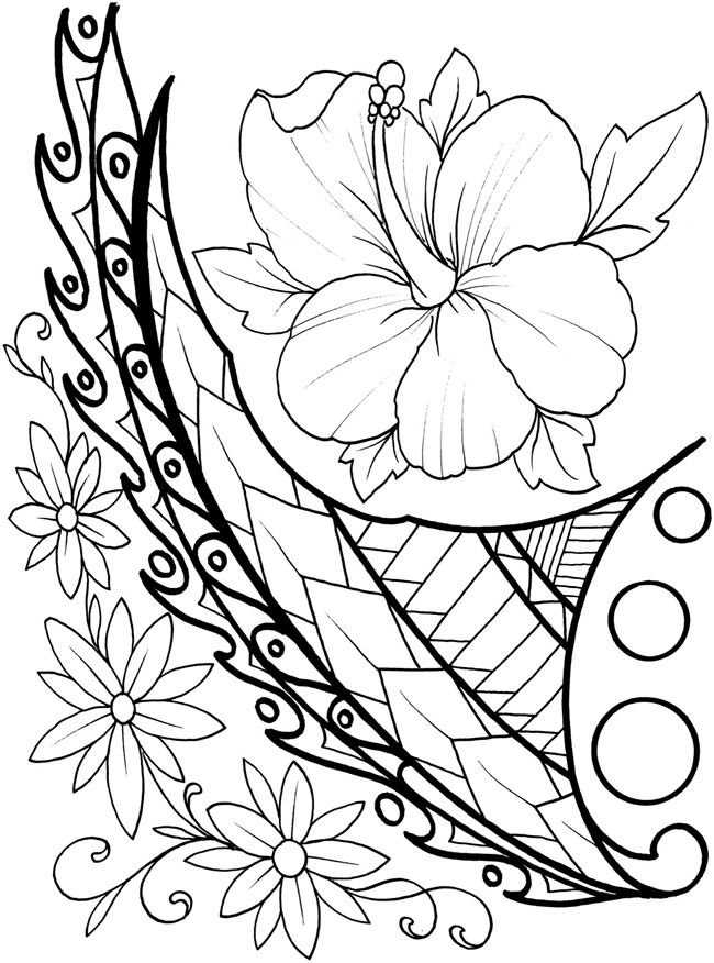 welcome to dover publications creative haven polynesian designs coloring book artwork by erik siuda