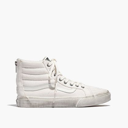 Madewell - Vans® SK8-Hi Slim Zip High-Top Sneakers