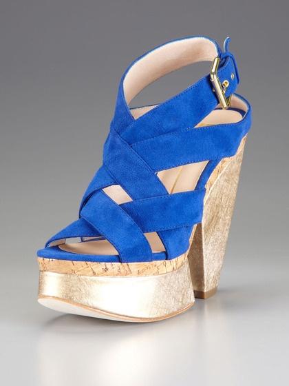 Ranger Platform Sandal by Dolce Vita Shoes on Gilt.com: Ranger Platform, Marci Shoes, Shoes Blue, Life Sandals, Dazzle Shoes, Platform Dolce, Life Shoes, Platform Sandals, Sweet Life