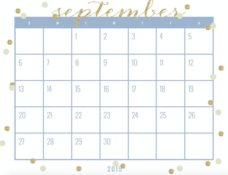 The  Best September Calendar Printable Ideas On