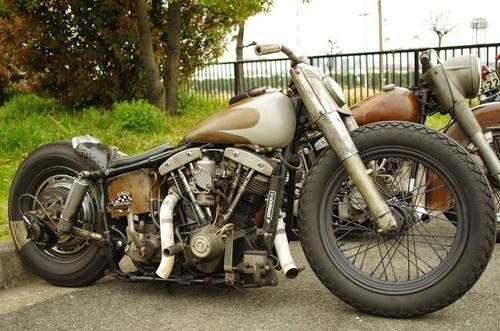 Shovelhead | Bobber Inspiration - Bobbers and Custom Motorcycles | saltadkaramell September 2014