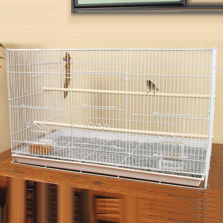 Petco Designer White Finch Flight Cage Internet Price: $49 ...