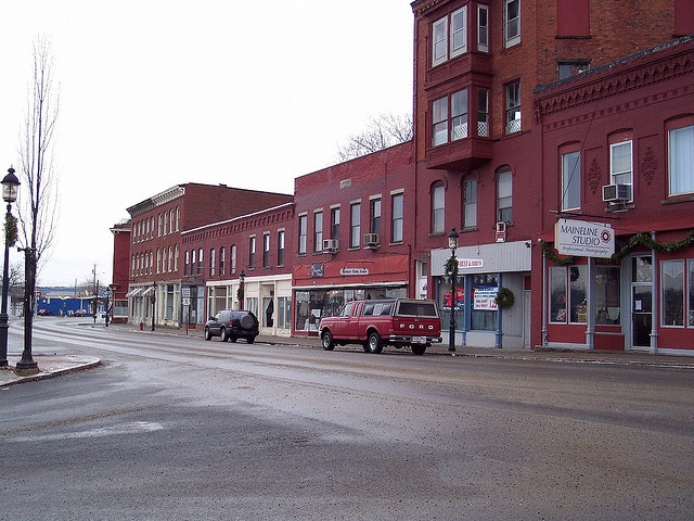 Me Nb03m084 Downtown Calais Maine 2003
