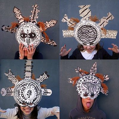 African tribal masks and list of other African art projects
