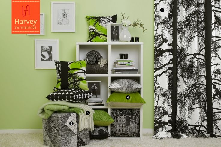 A fantastic range of fabrics. Go the monochrome! Vallila in action at Harvey Furnishings in New Zealand !