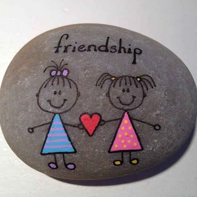 #Freundschaft #Stein #Liebe