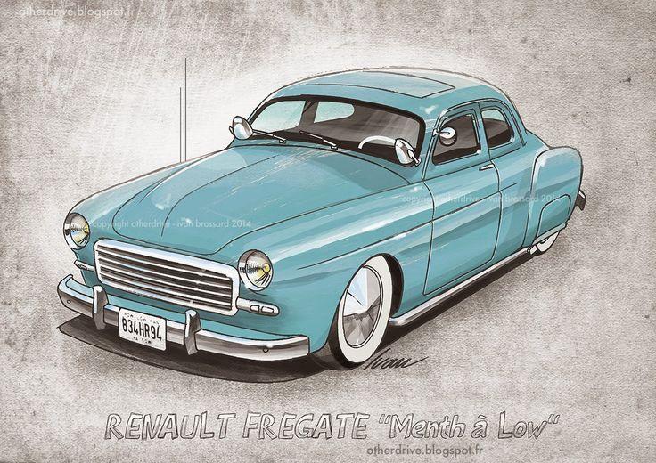 """Renault Frégate """"menth à low"""""""