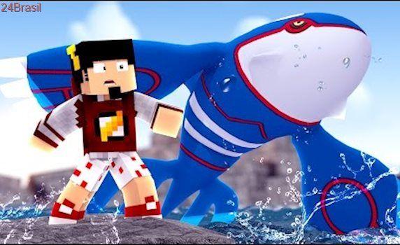 Minecraft: GINÁSIO DE ÁGUA - POKEMON Ep.10 ‹ AMENIC ›