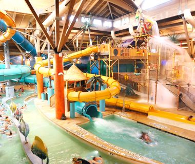 America's Coolest Indoor Water Parks courtesy of Travel + Leisure. We love them!