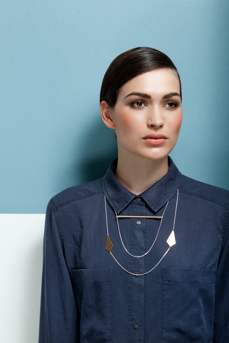 Necklace 'Sphere Horizon'. Necklace 'Eclips'. Cosmic Collection. http://theboyscouts.com