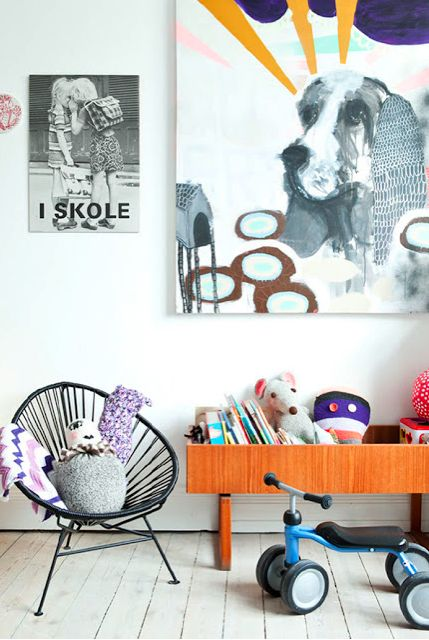 vintage touches // kids' space