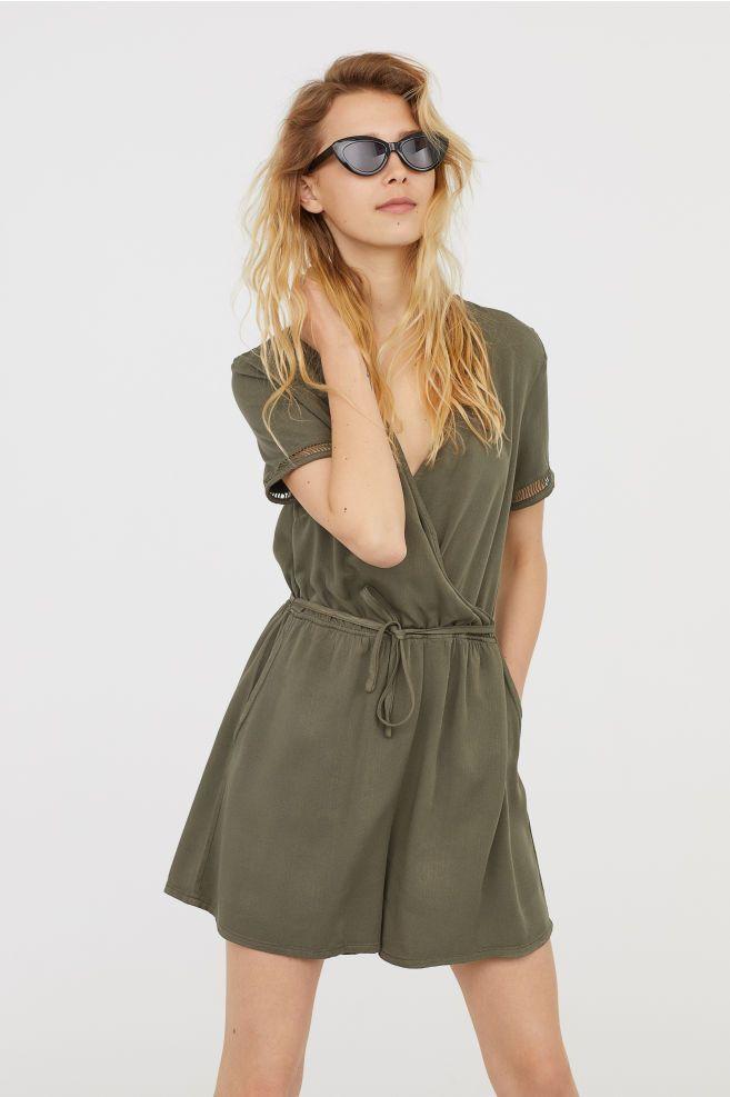562f8c8a3d Jumpsuit - hunter green - abercrombie ad
