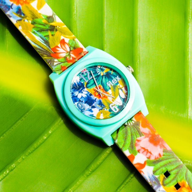 [PIN 2 WIN] Free Tropical Watches from Flex Watches!