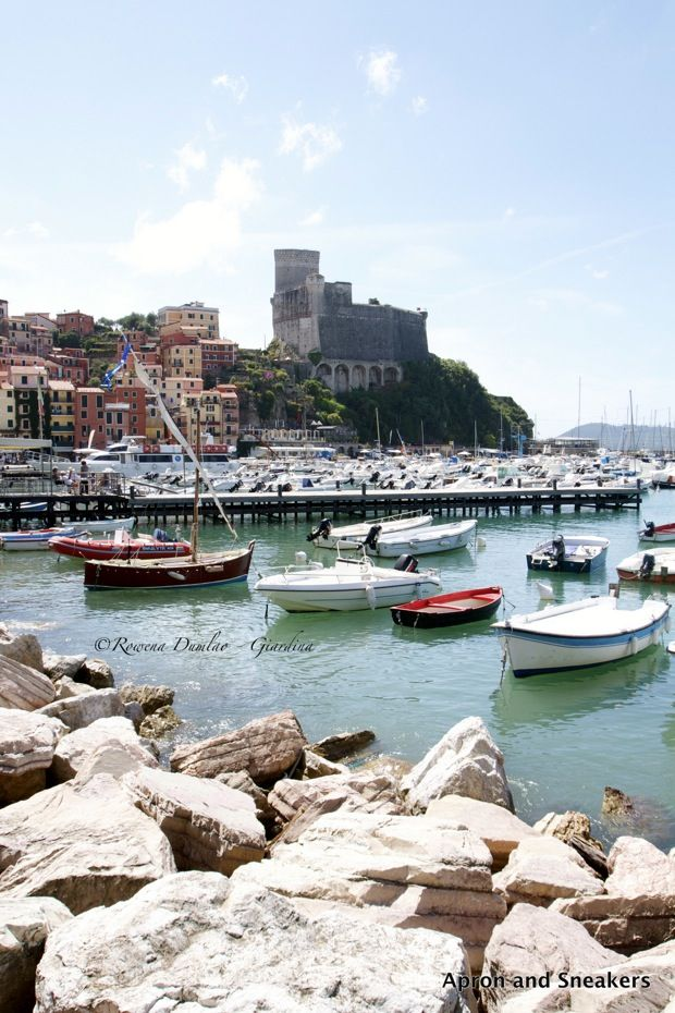 Apron and Sneakers - Cooking & Traveling in Italy and Beyond: Going Around the Italian & French Riviera (Part 2): Lerici, Portovenere, Sarzana,Tellaro & Vezzano Ligure