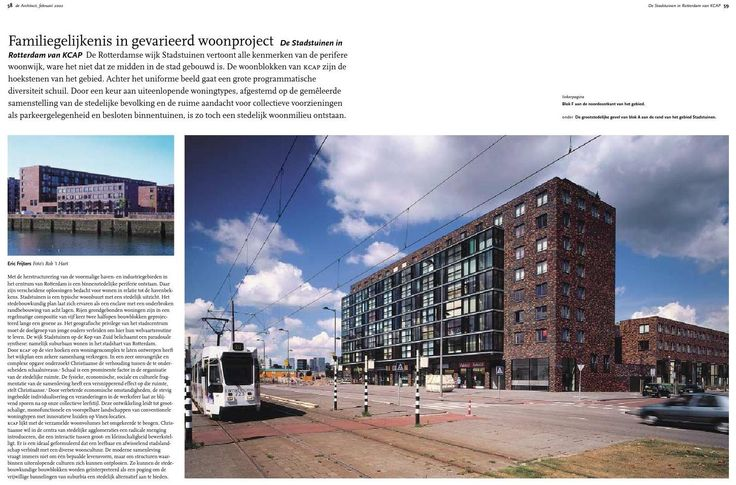 #ClippedOnIssuu from artikelen De Architect