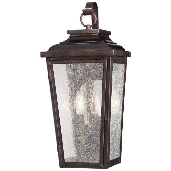 Minka Lavery Irvington Manor 2-Light Outdoor Wall Lantern & Reviews | Wayfair
