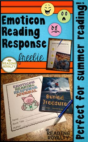 This freebie is perfect to engage your students in reading response using emoticons! Free - Michaela Almeida, Reading Royalty