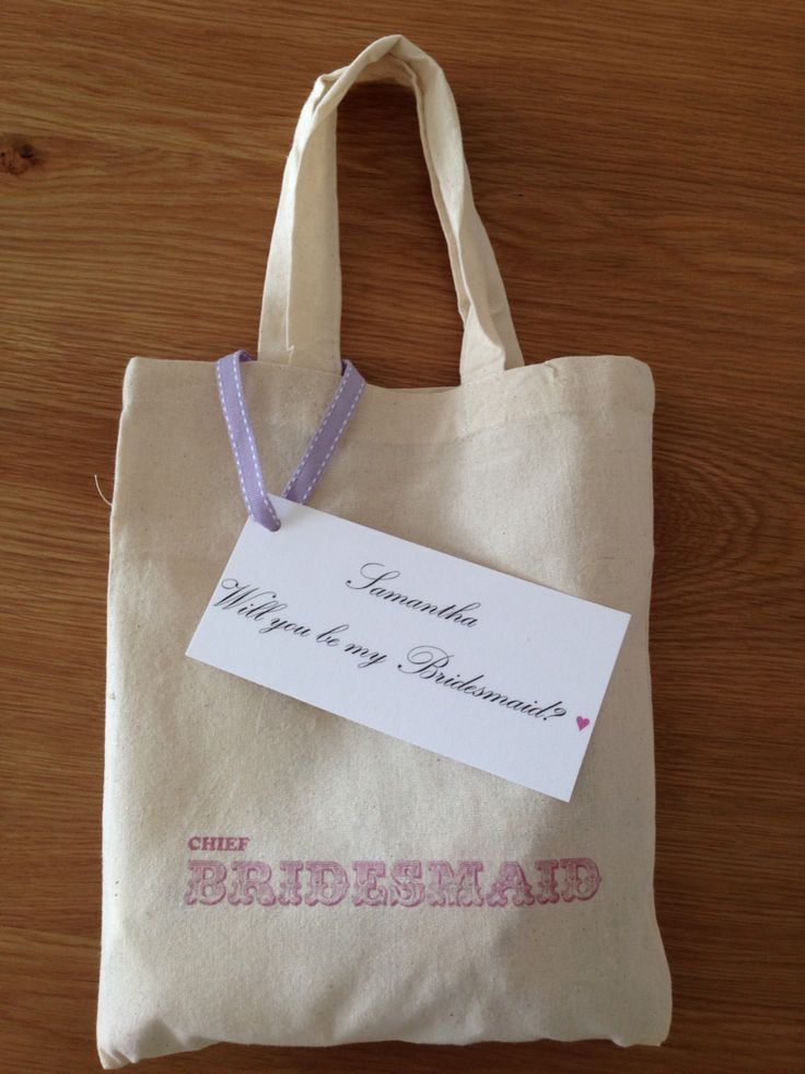 Chief Bridesmaid Gift Bag. I gave this to Samantha as a token when I asked her to be bridesmaid. I had put a friendship plaque inside it and a lilac nail polish as that is one of the five pastel colours I had assigned my bridesmaids!! Each will wear a different colour! There were also some love heart sweets too ☺️