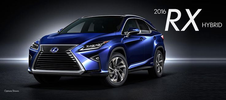 2016 Lexus RX Hybrid - New Lexus Model Details from Lexus of Las Vegas