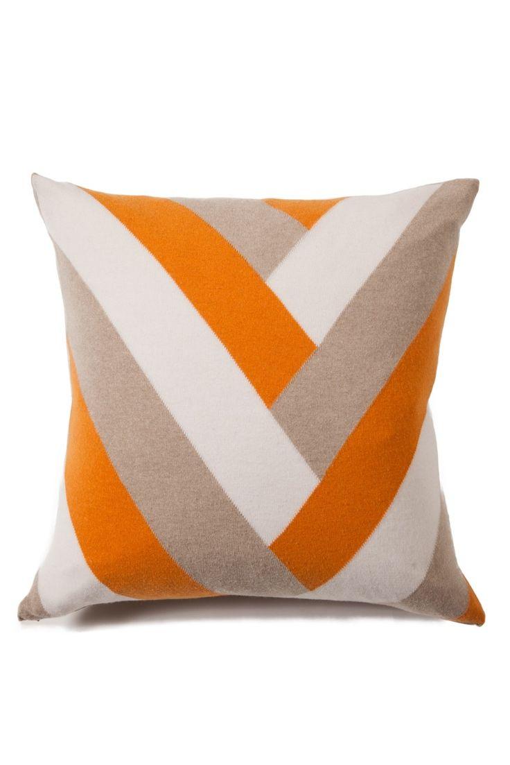 V Cashmere Pillow