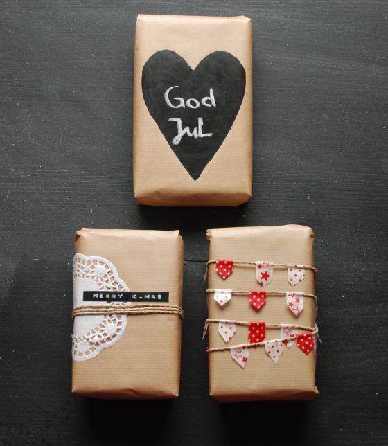 Geschenkverpackungen von Ronja http://mylittleday.wordpress.com für #WeihnachtenKannKommen von www.danipeuss.de