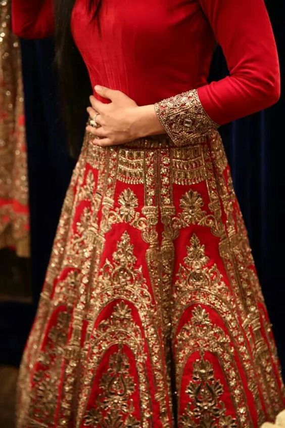 Beautiful Red Womenswear- Designer Outfit- Engagement Dress- FunctionMania.com      FunctionMania.com is your Function Planning Resource, FunctionMania features Best vendors, True stories, ideas and inspiration | photographers, decorators, Make-up artists, venues, Designers etc