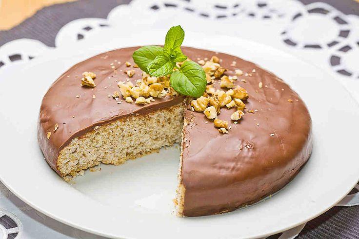 Ciasto z orzechami #omnomnom #dinner #mniam #smacznastrona