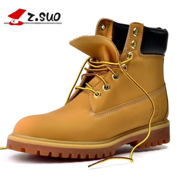 Suo men's boots, the new autumn and winter high fashion vintage boots, with  pure color, round, tendon soles 10061 . Click visit if you want to buy