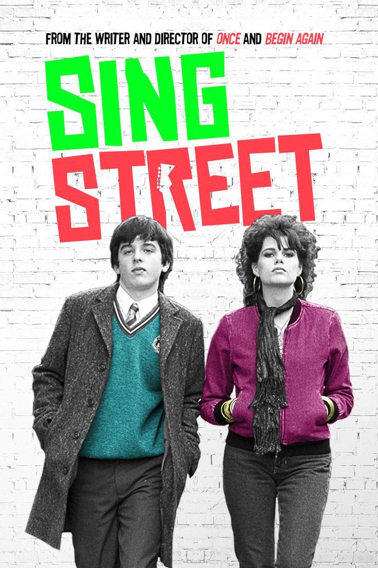 Sing Street Movie Poster - Lucy Boynton, Maria Doyle Kennedy, Aiden Gillen…