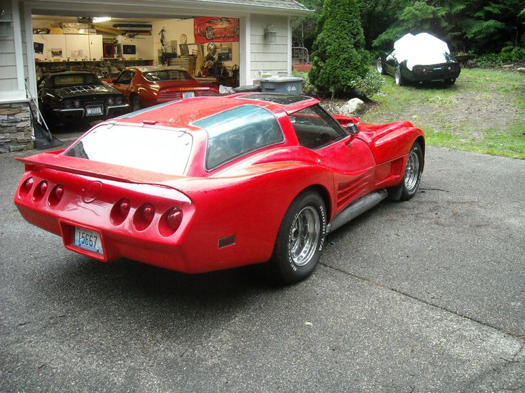 '76 Chevrolet Corvette Greewood Can Am Wagon