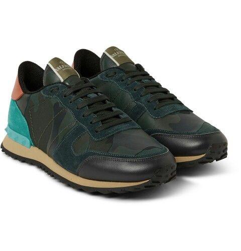 Valentino camo sneakers 2014-2015