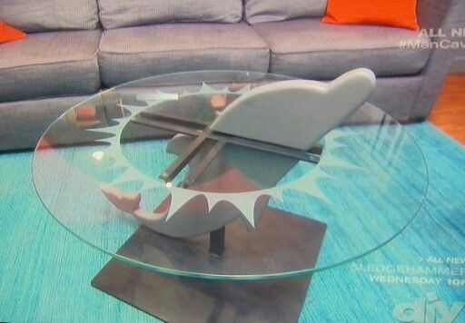 Genial Miami Dolphins Inspired Coffee Table As Seen On DIY .