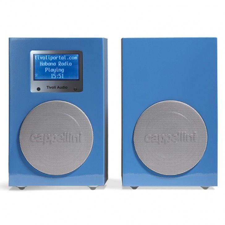 Tivoli Audio   NetWorks Combo Cappellini Stereo with FM in Blue   Homeware   5rooms.com