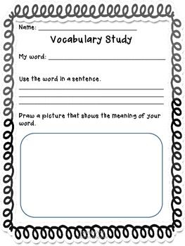 Printables Vocabulary Practice Worksheets 1000 images about proyectos que intentar on pinterest in this file you will receive 6 vocabulary studypractice worksheets these vary difficulty and skill most of the worksheets
