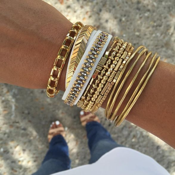 New season arm parties are our favourite! #newarrivals #stelladotstyle #armparty…