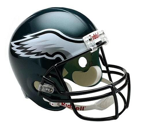 c4cca1c9c4a Riddell NFL Philadelphia Eagles Deluxe Replica Football Helmet –  Videos.Images.Pictures