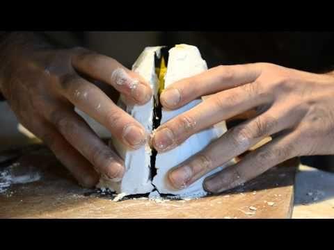 Como hacer un molde de Caucho de Siliconas por coladas - YouTube