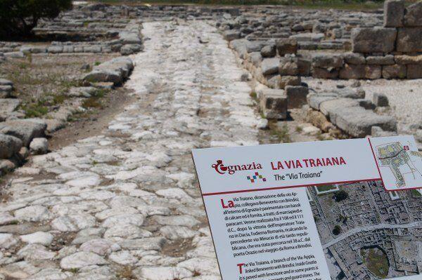 La Via Traiana. Dom 02 Giu con INTOTHEBIKE per #DiscoveringPuglia Twitter / FrancescoLiuti  http://discovering.viaggiareinpuglia.it/?event=percorso-in-bicicletta-parco-archeologico-di-egnazia