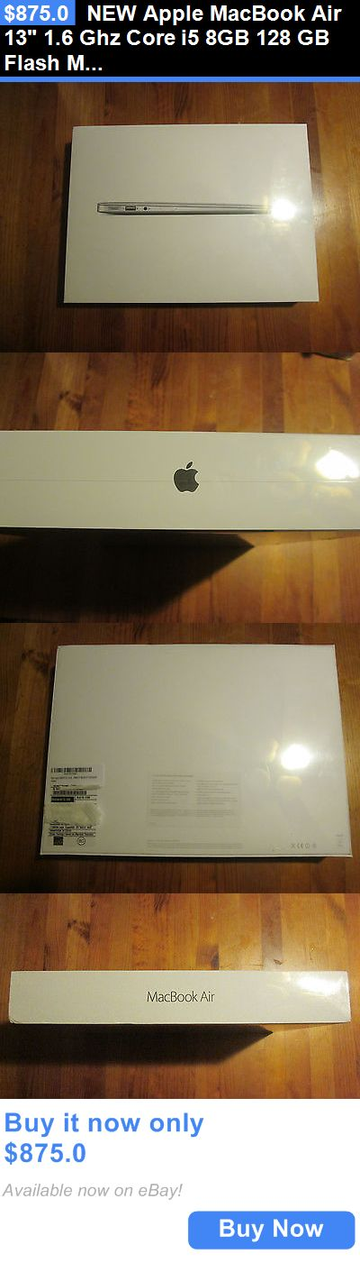 general for sale: New Apple Macbook Air 13 1.6 Ghz Core I5 8Gb 128 Gb Flash Mmgf2ll/A Sealed BUY IT NOW ONLY: $875.0