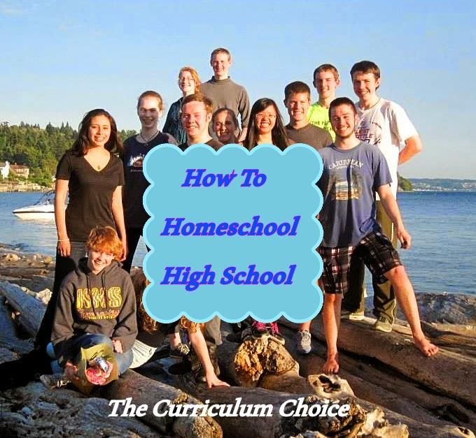 How to homeschool high school, featuring resources and encouragement from the veteran homeschooler authors at The Curriculum Choice.
