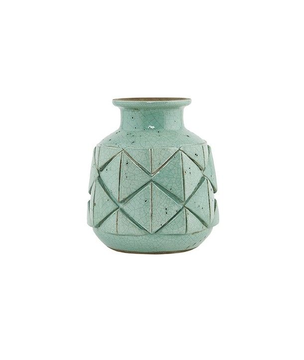 Vase avron vert house doctor