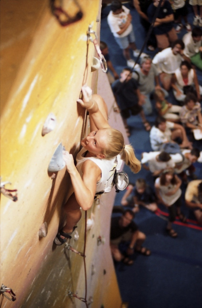 Back in the Day: Youth Competitions | Emily Harrington: Youth Competitions, Medium
