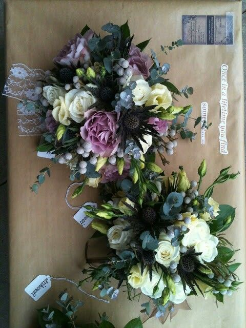 Brides and Bridesmaid Bouquet