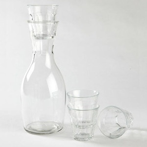 French Carafe With 4 Glasses, 17,50€, now featured on Fab.