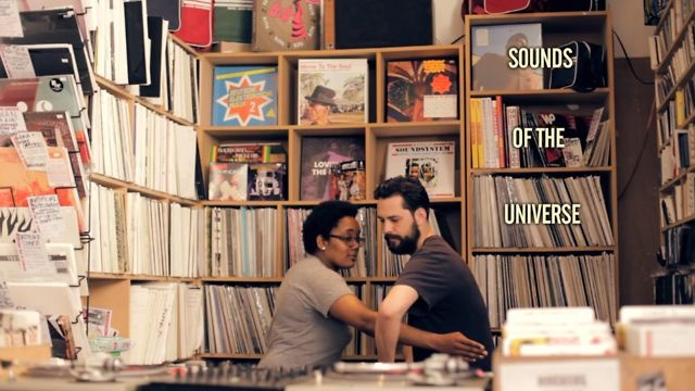 Behind the counter: Sounds Of The Universe. Behind The Counter is our new series of films in which our favourite record shops run down their top 5 vinyl releases of the week. This time round, we dropped in on Nicole McKenzie and Theo Leanse at Sounds Of The Universe in Soho for a typical morning of roots reggae, gospel boogie and Spanish new wave. WATCH MORE