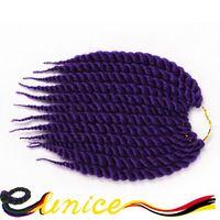 African Hair Style Cheap Hair Extensions Crochet Havana Mambo Twist Marley Braiding Hair Jumbo Box Braids Senegalese Twist Style